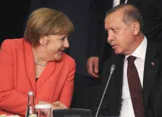 Bundeskanzlerin Merkel und der türkische Präsident Erdoğan