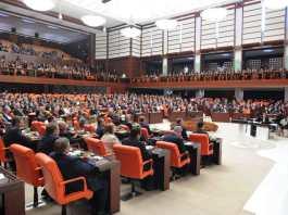 Plenum des türkischen Parlaments