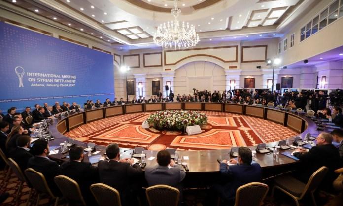 Syrien-Verhandlungen im kasachischen Astana