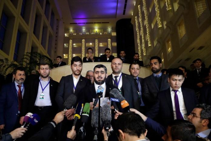 Syrien-Verhandlungen in der kasachischen Hauptstadt Astana