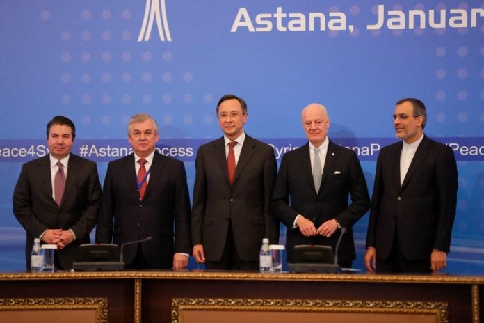 Syrien-Verhandlungen in Astana