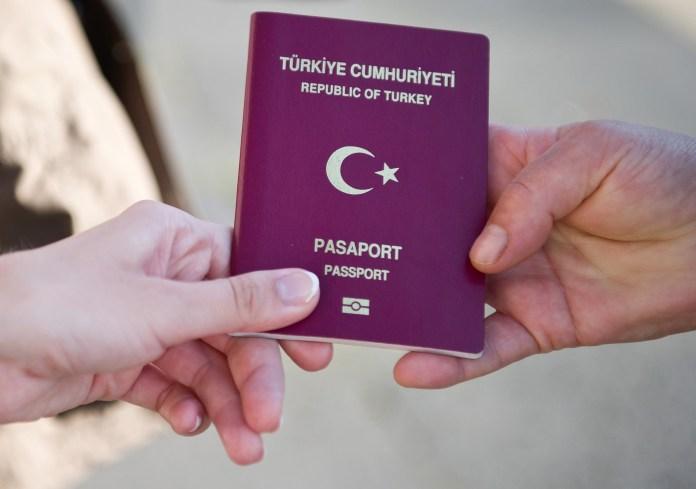 türkischer Pass