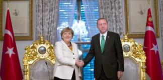 Angela Merkel und Recep Tayyip Erdogan in Istanbul
