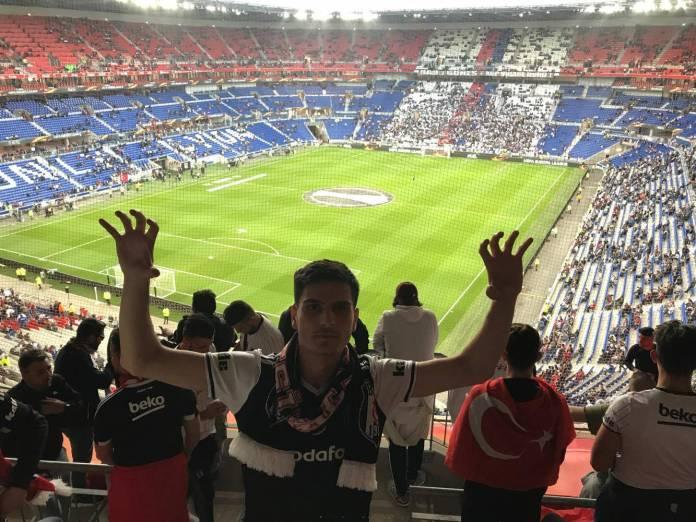 Berhan Ali Olympique Lyon-Besiktas Istanbul