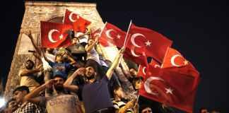 Fotos aus der Putschnacht