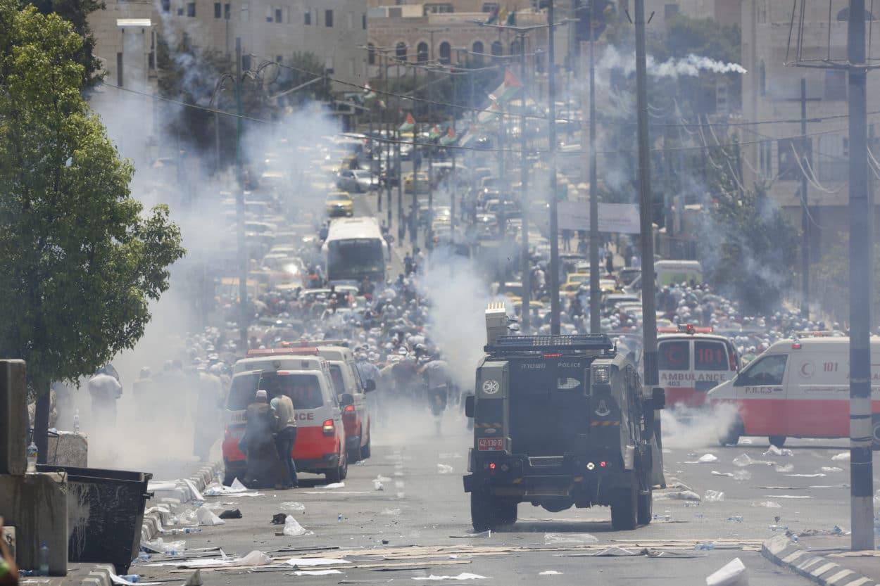 Zwei Tote und 200 Verletzte in Jerusalem