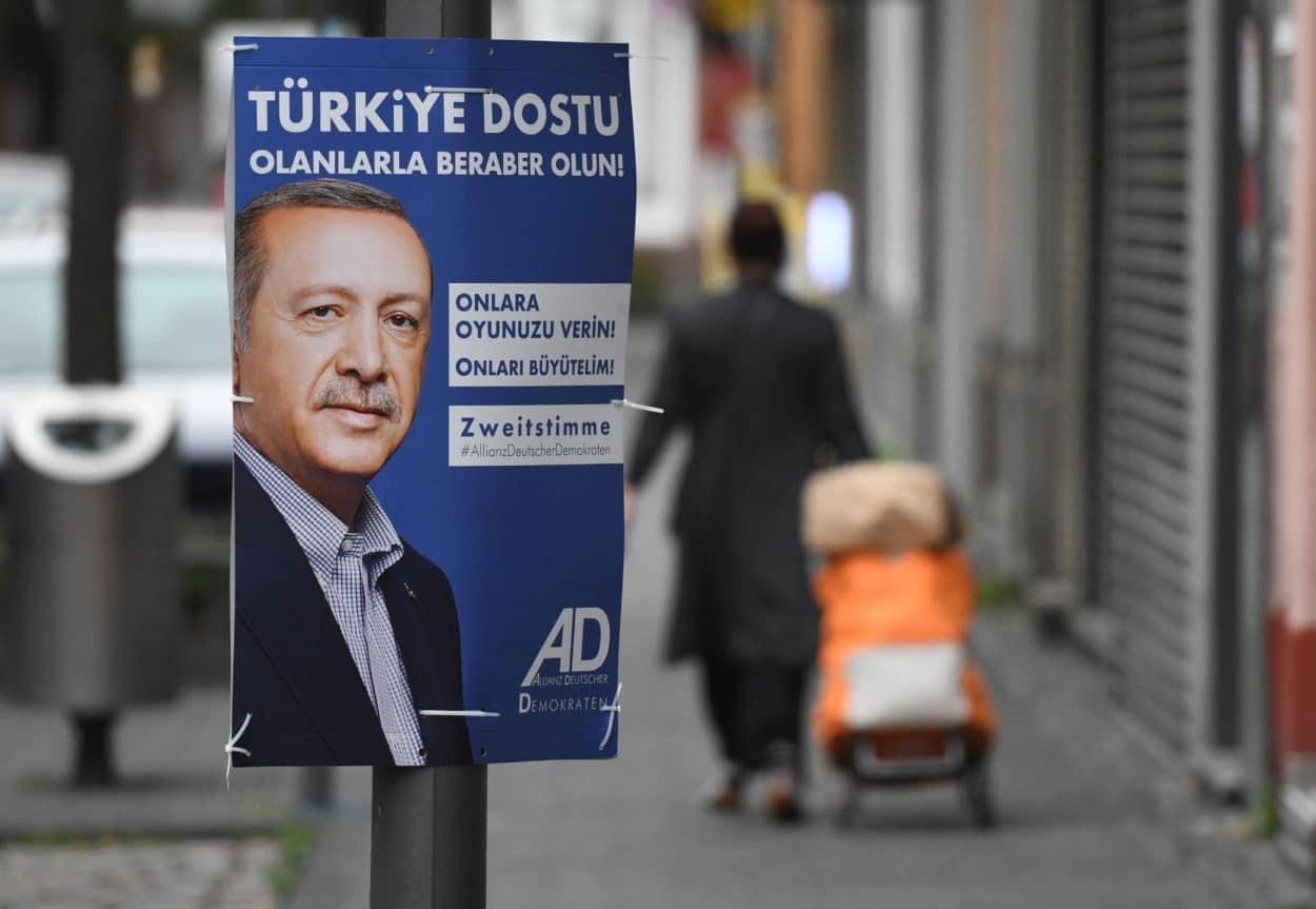Kleinpartei wirbt in NRW mit Erdogan-Plakaten