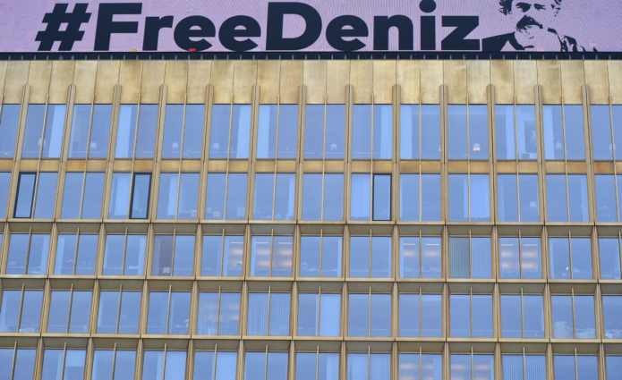 #FreeDeniz