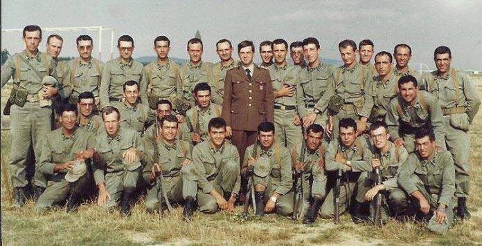 Erdogan als Soldat in Istanbul