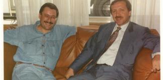 Erdogan und Melih Gökcek