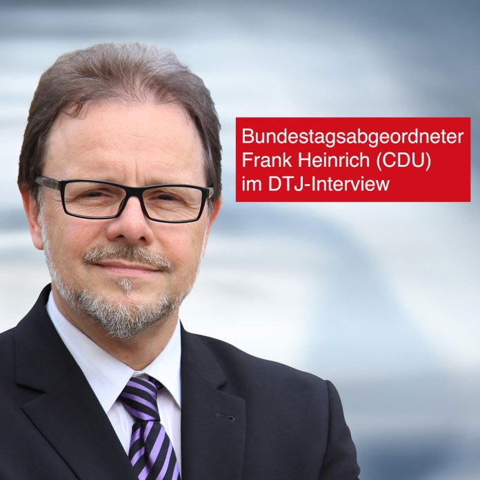 Im Interview mit DTJ-Online: CDU-Menschenrechtsexperte und Bundestagsabgeordneter Frank Heinrich.