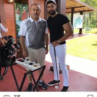 Taner Ay u. Mevlüt Çavuşoğlu Golf