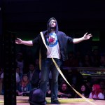 Drew Galloway shows up