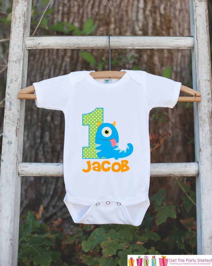 Shopping Little Monster First Birthday Shirt