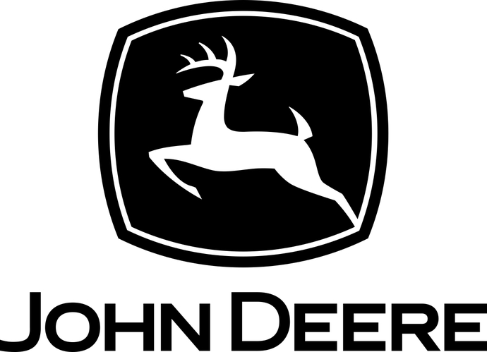 Logo Deere John Silhouette