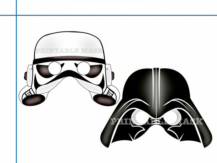 Template Stormtrooper Mask