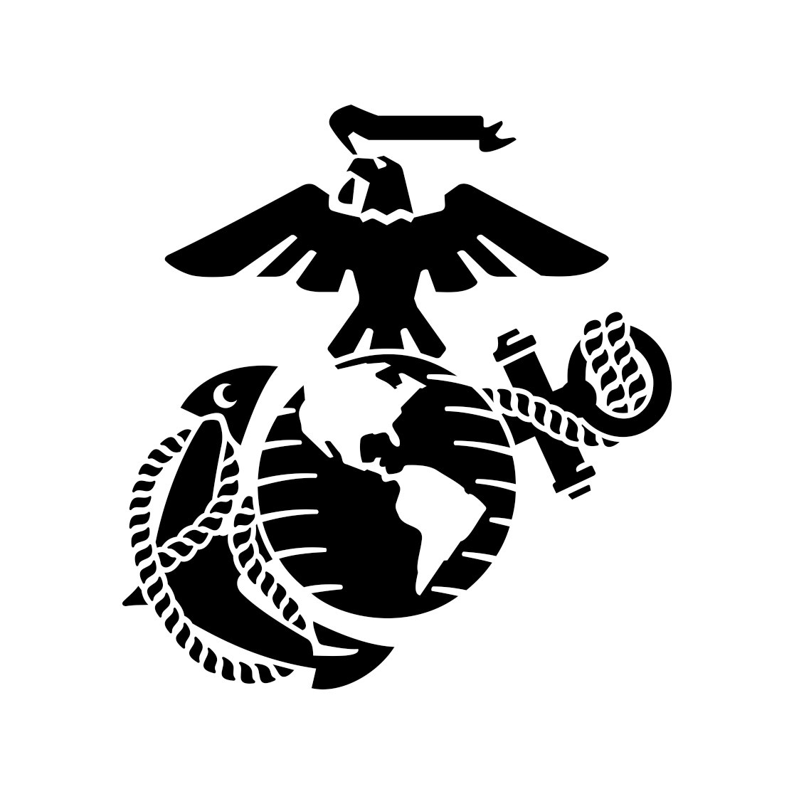 Eagle Globe Anchor Usmc Marine Corps Graphics By