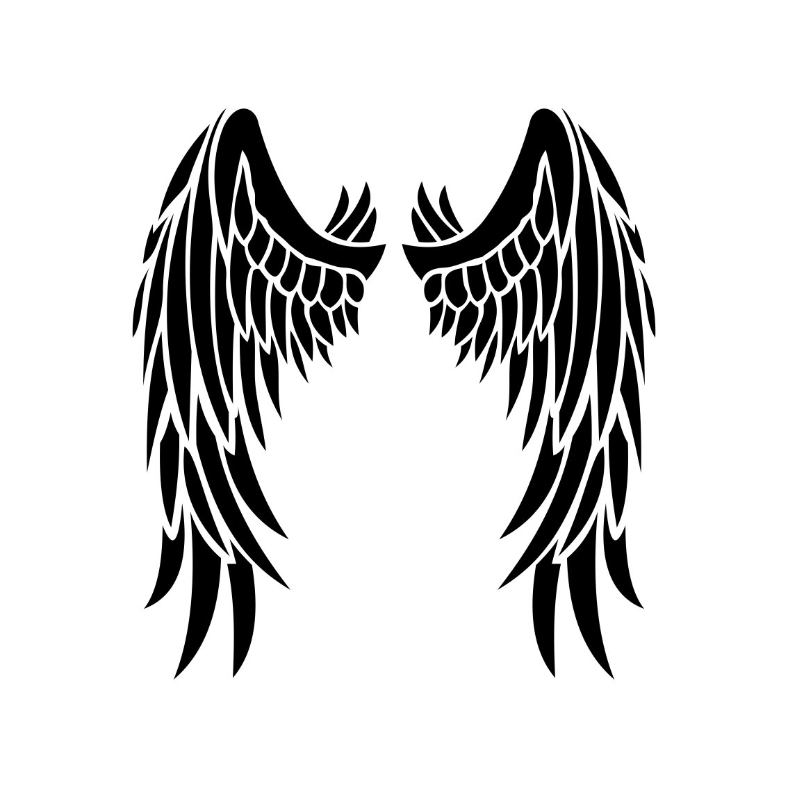 Download Angel Wings graphics design SVG EPS Dxf Png by ...