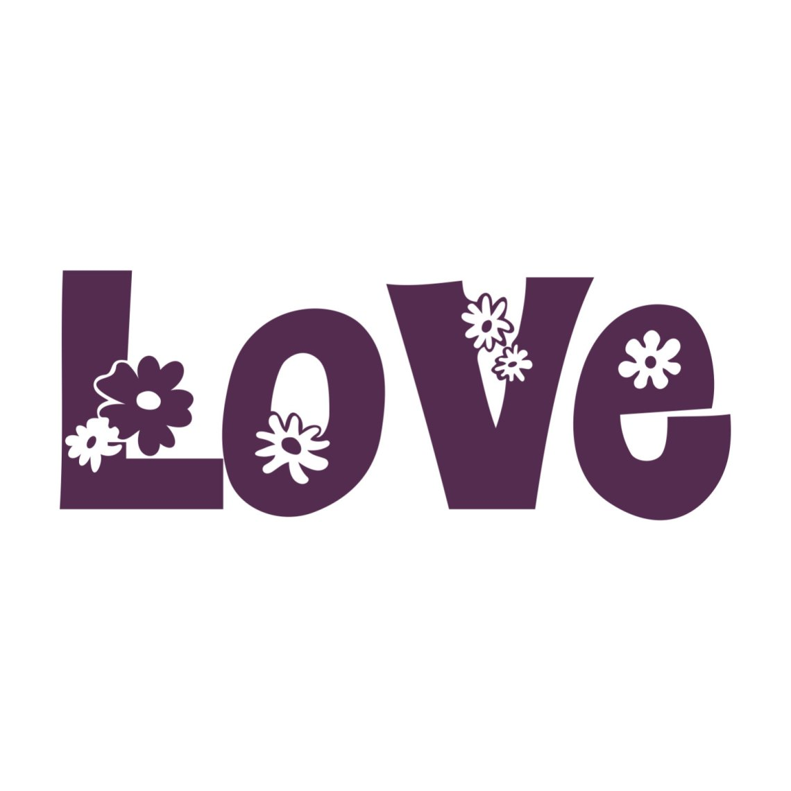 Download Love Flower Valentine graphics design SVG DXF | vectordesign