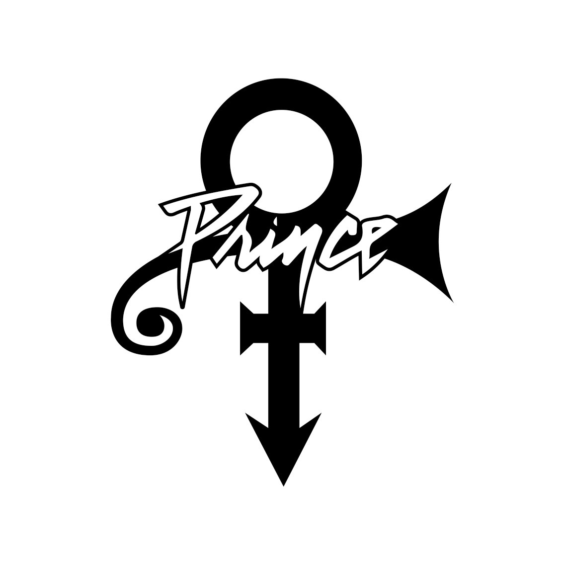 Prince Memorial Name Graphics Design Svg Dxf