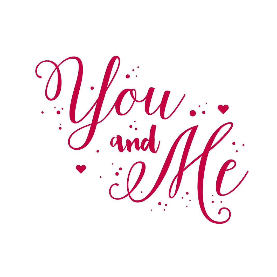 Download You and Me Phrase quote Valentines Day Heart by ...