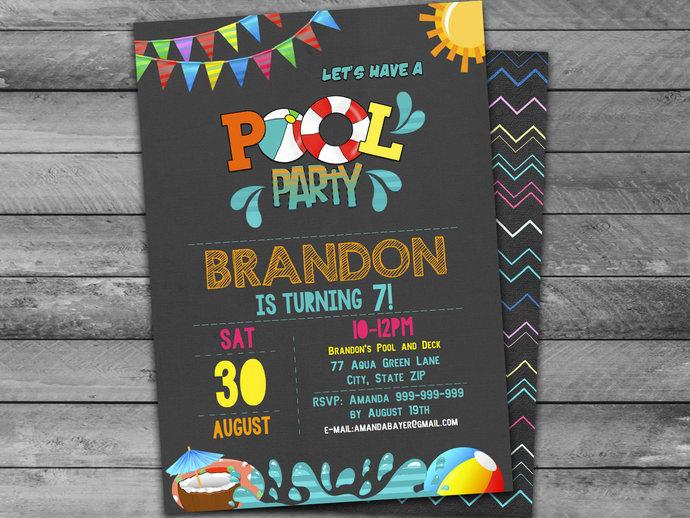 Birthday Invitations Turning 9