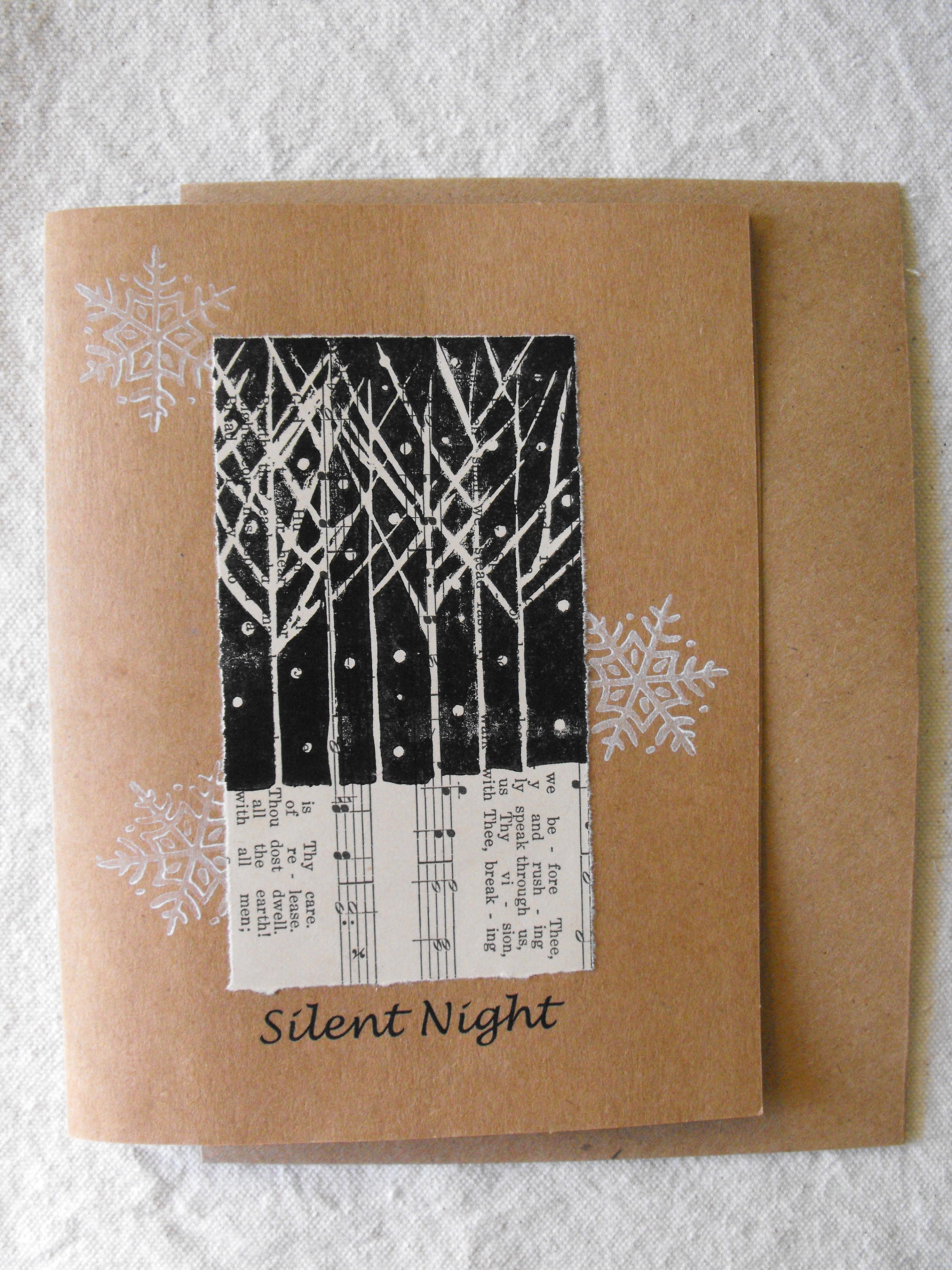 Original Handmade Greeting Card Blank Art By AM Designs