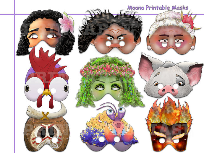 Kakamora Characters Printable