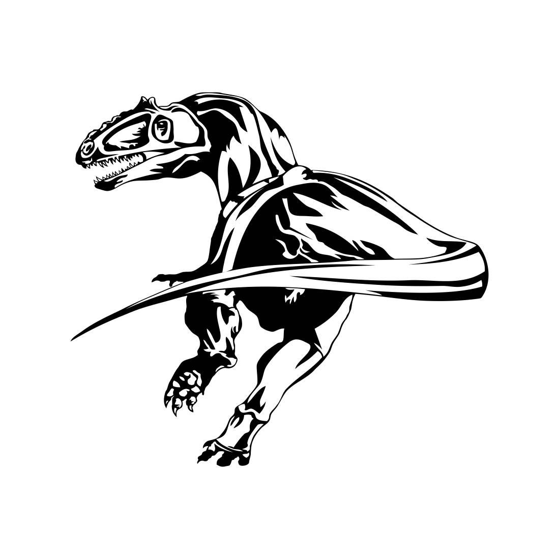 Dinosaur Dino T Rex Trex Graphics Svg Dxf Eps