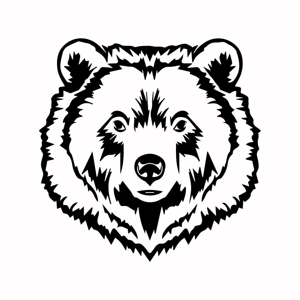 Grizzly Bear 10 Graphics Design Svg Dxf By