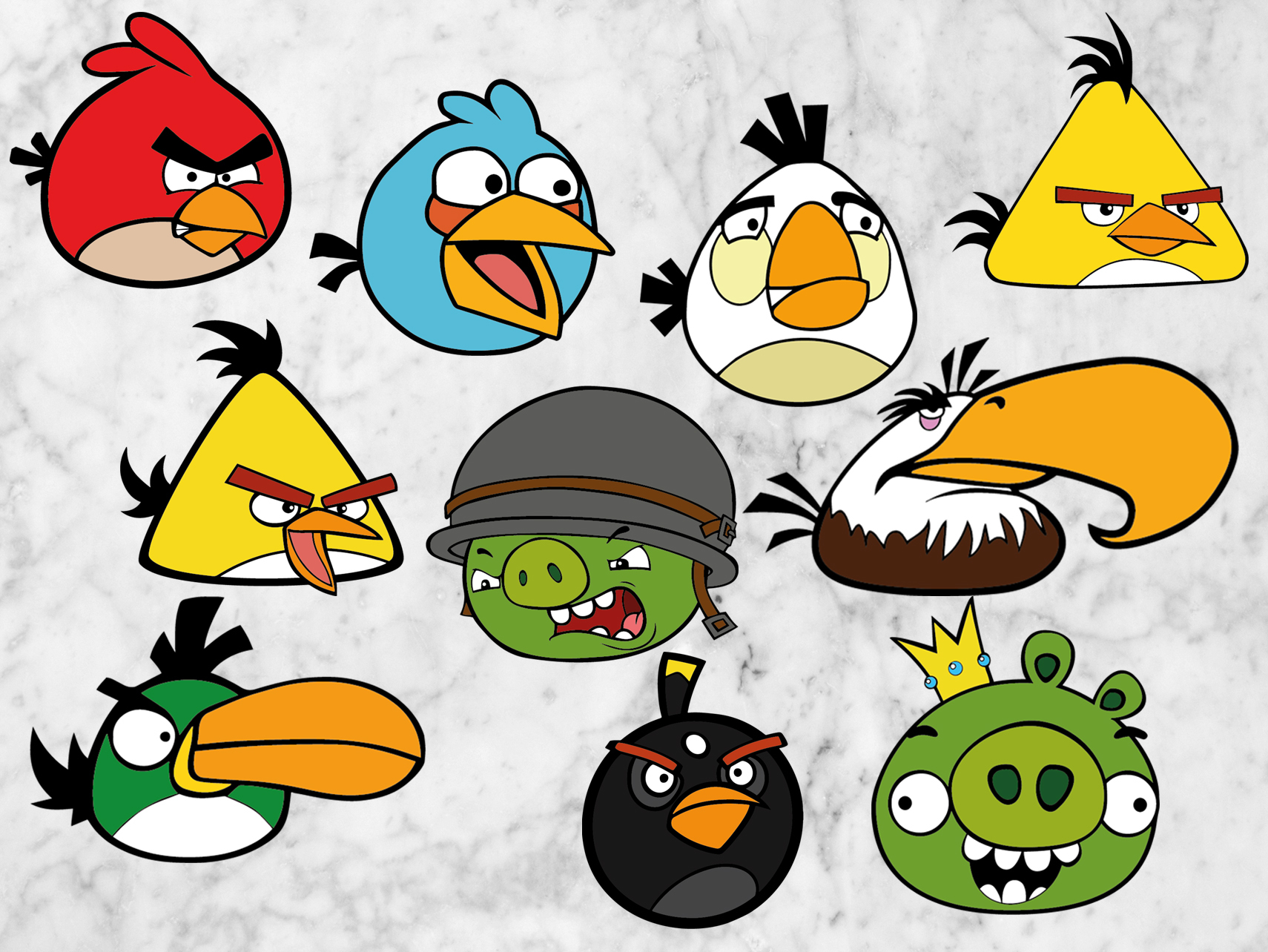 Angry Birds Svg Files Angry Birds Cut Files