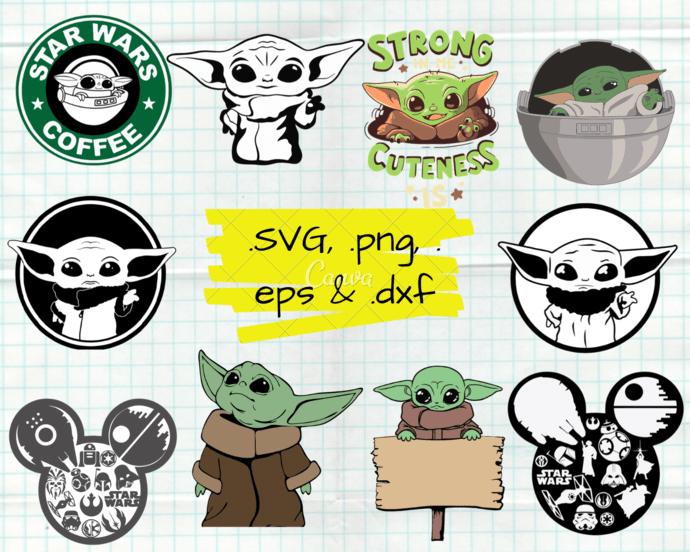 Download ClipartShop, Baby Yoda, Baby Yoda by ClipartShopCreations ...