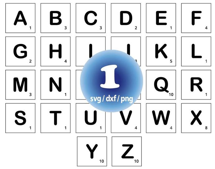 scrabble letters svg scrabble tile svg alphabet svg letters cut file scrabble font clipart for cricut and silhouette svg png dxf