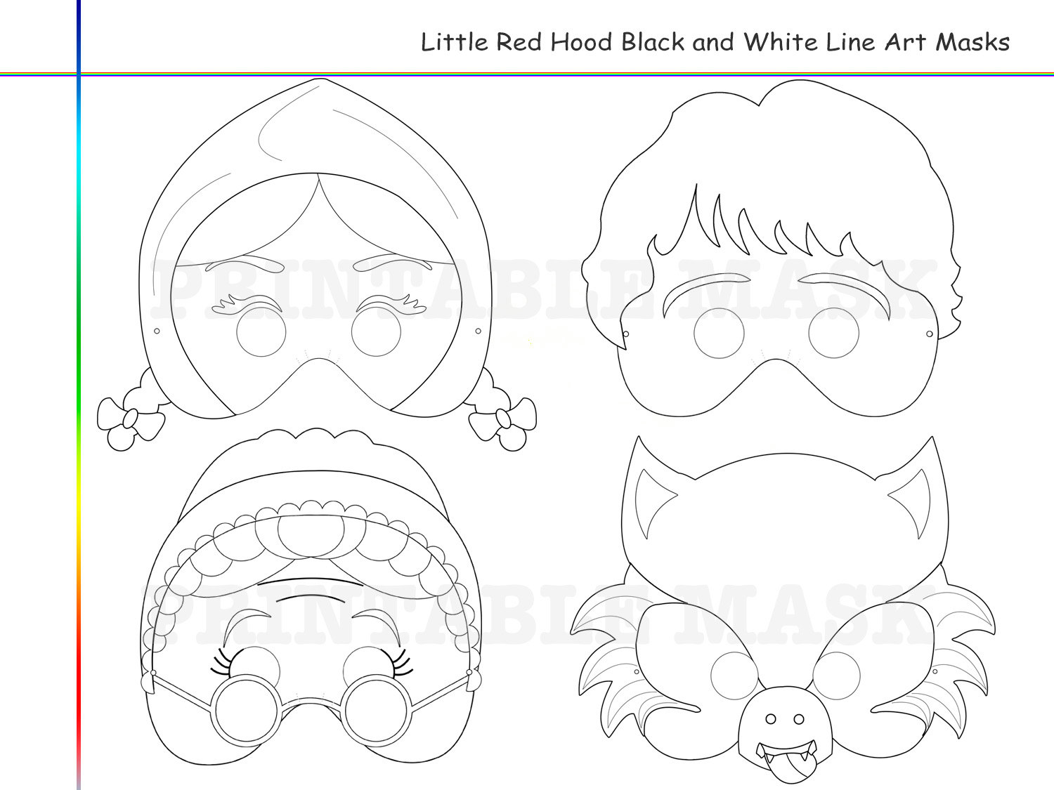 Coloring Pages Little Red Riding Hood By Holidaypartystar