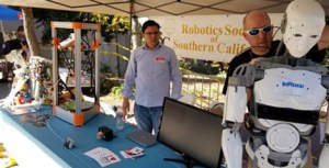 image of the robotic society with their robot