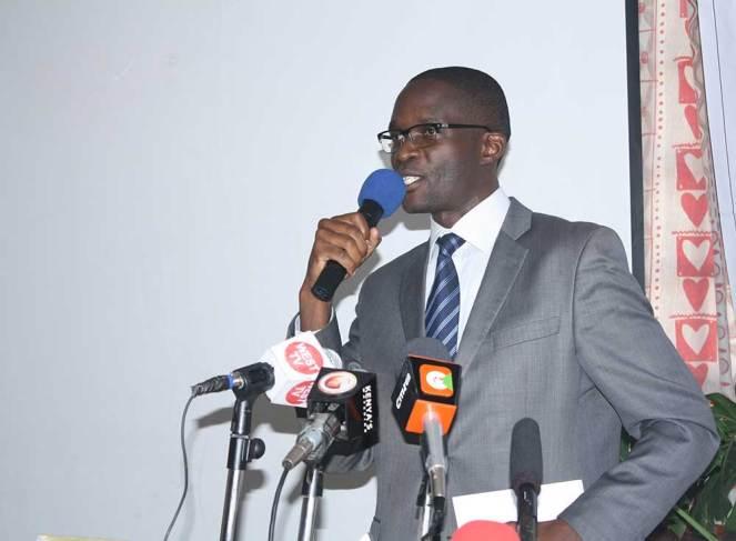 Mr. Ezra Chiloba, Executive Director, IEBC