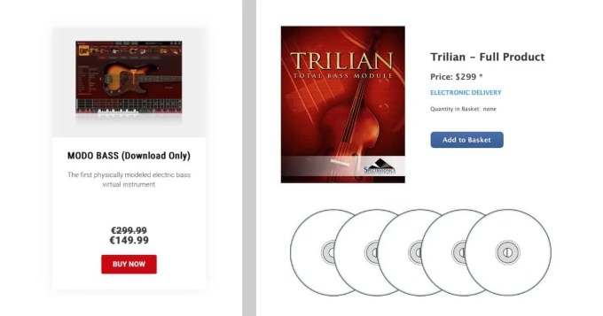 IK Multimedia MODO BASS Spectrasonics Trillian download