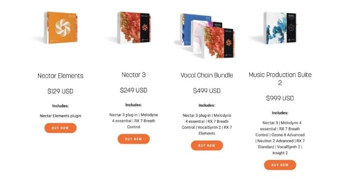 iZotope「Nectar 3 Elements」は買うべき?Nectar 3との違いに