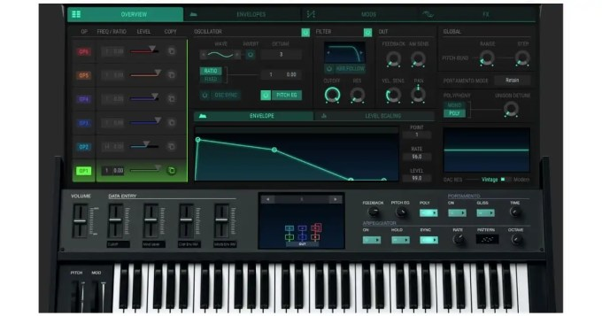 arturia v collection 7 dx 7 v