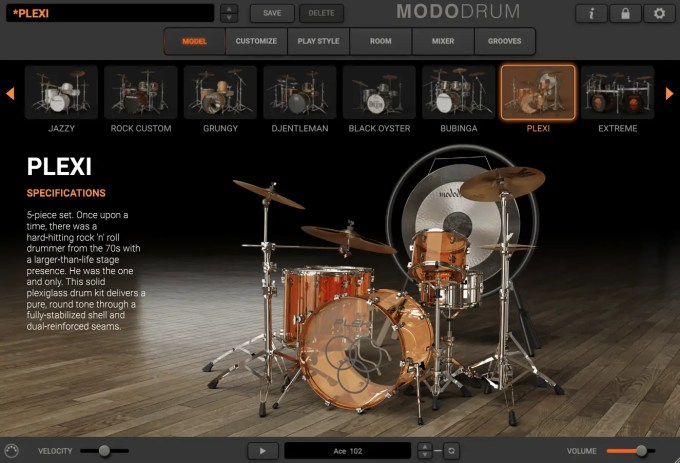 ik multimedia modo drum kit