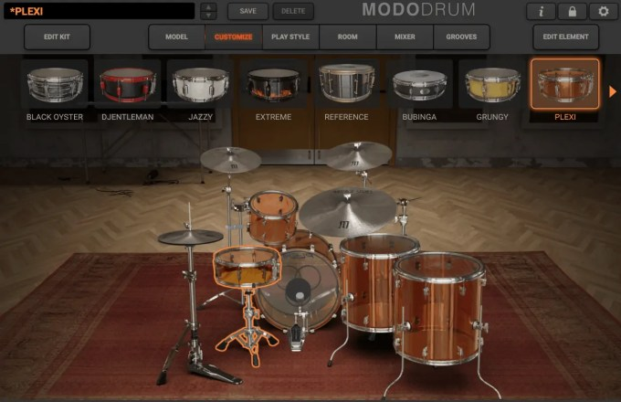 modo drum ik multimedia customize