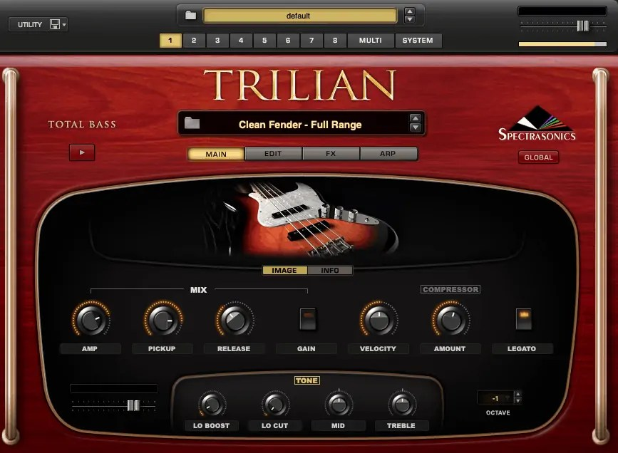 spectrasonics trilian overview