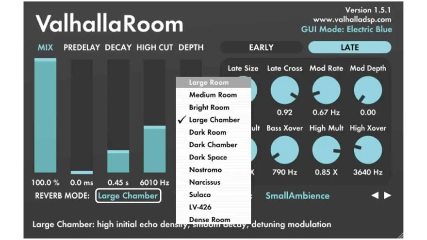 valhalla-room-reverb-mode
