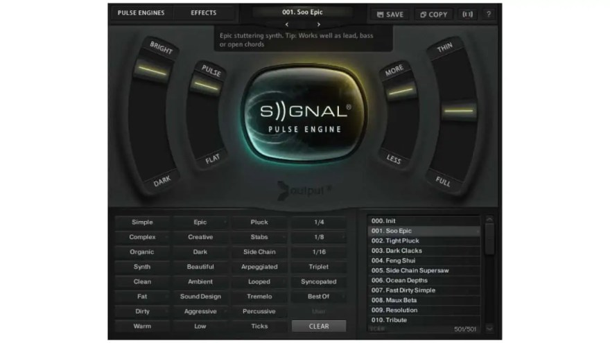 signal-presets