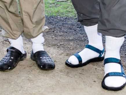 The Absolute Worst Pictures of Men In Socks And Sandals