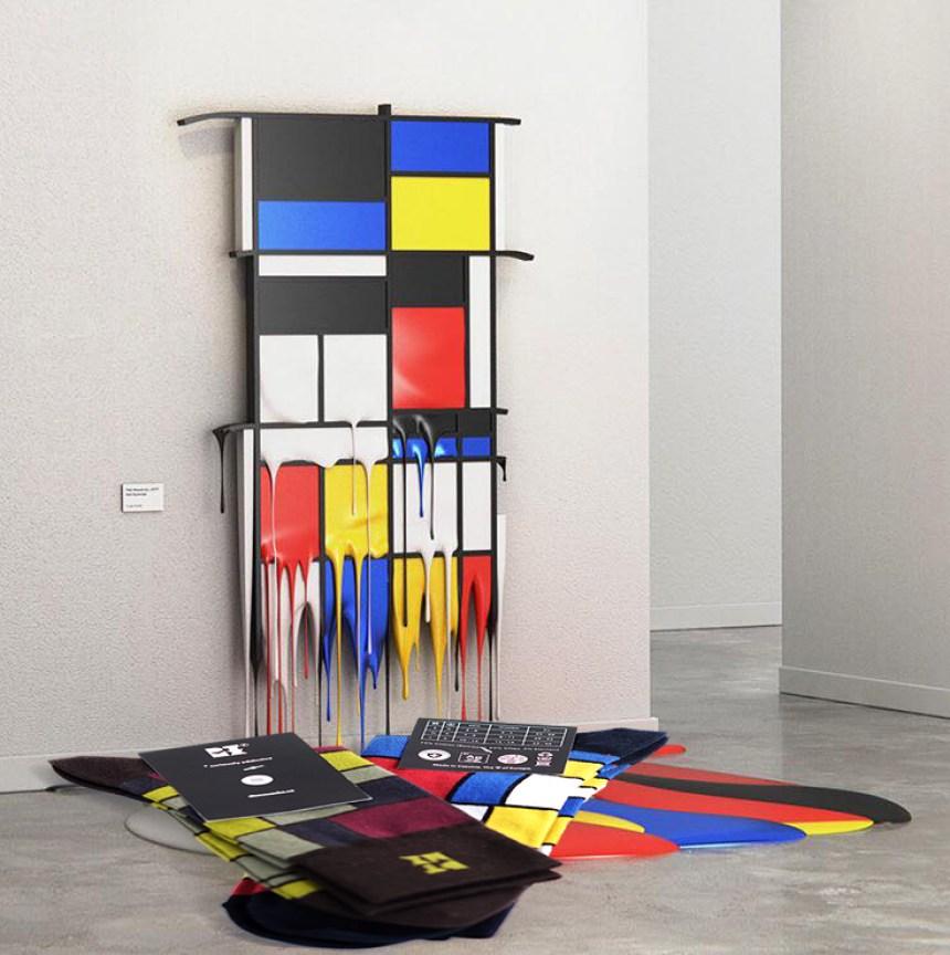 Funky Mondrian Socks