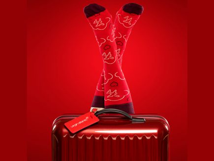 Designer Socks Are Latest Airline Perk for Premium-Class Passengers