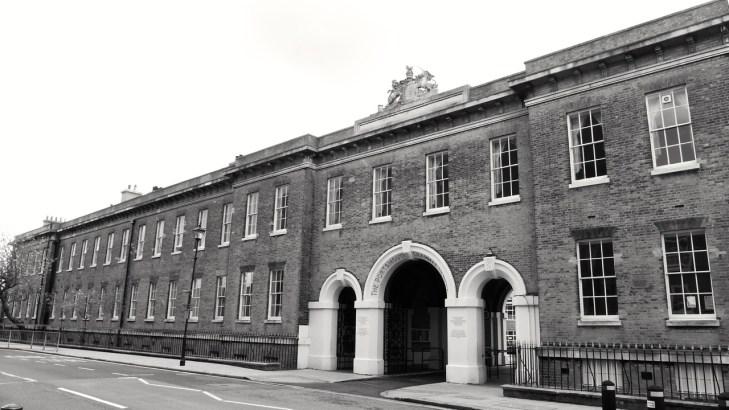 Portsmouth Grammar School (Cambridge Barracks) c1855
