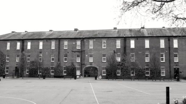 Portsmouth Grammar School (Inner) (Cambridge Barracks) c1855