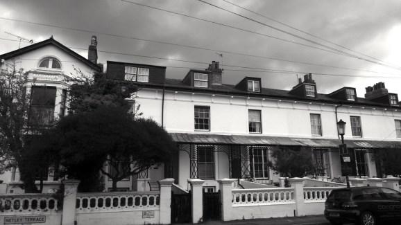 Netley Terrace (West) Southsea 1860